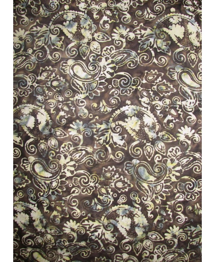 Coffee and Cream Paisley