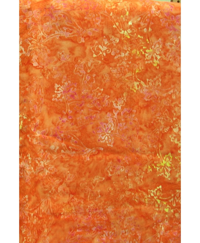Lacy Flower on Spiced Orange