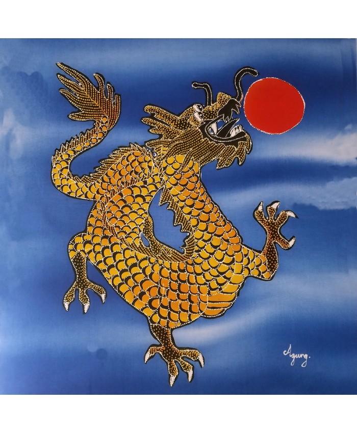 Blue Dragon near Sun