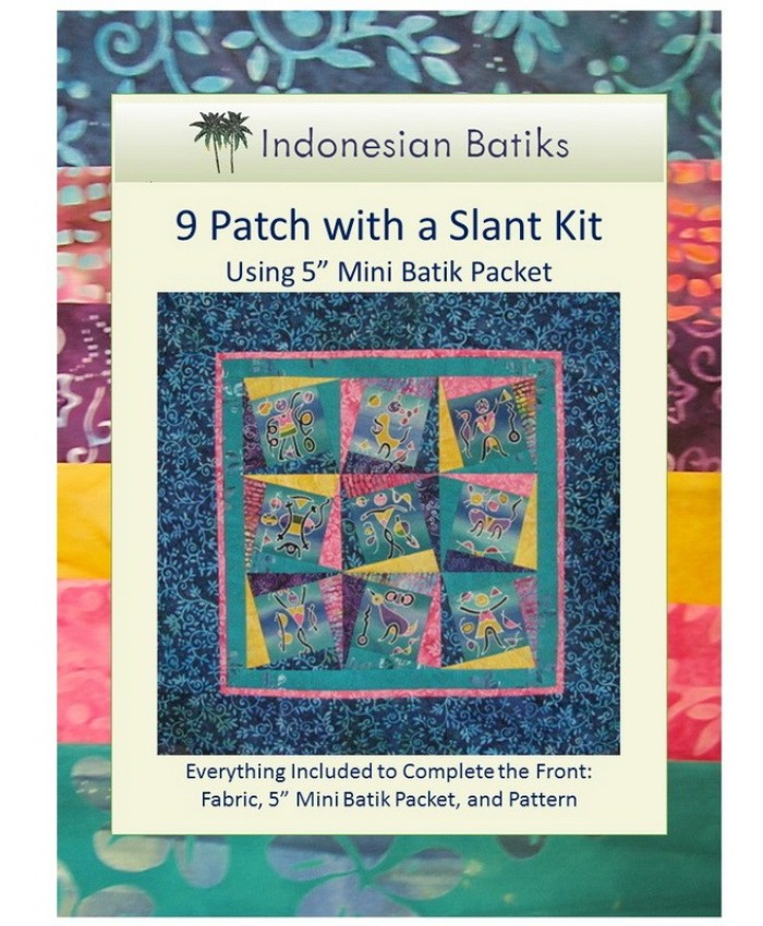 9 Patch with a Slant KIT with 5