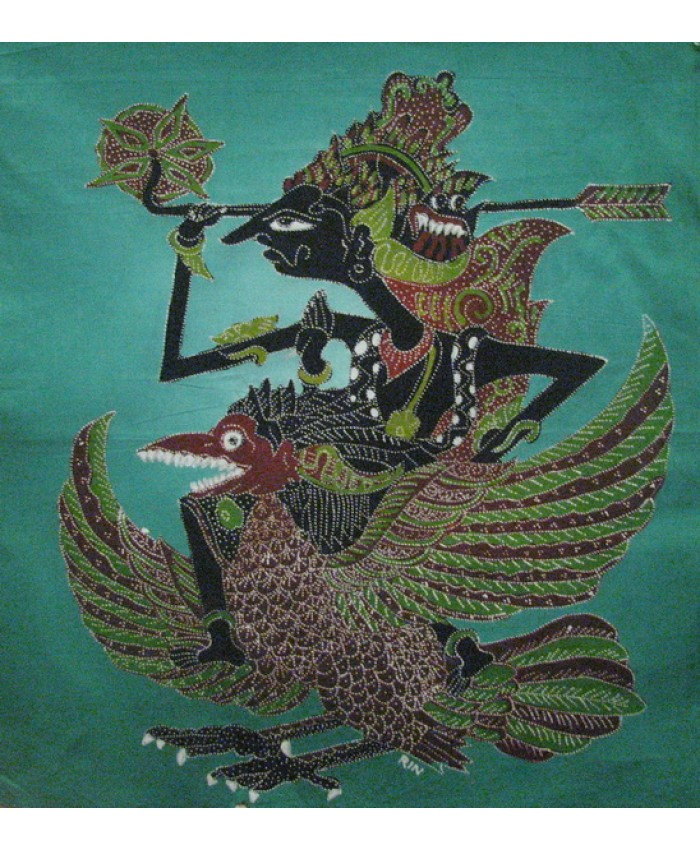 Warrior with Garuda