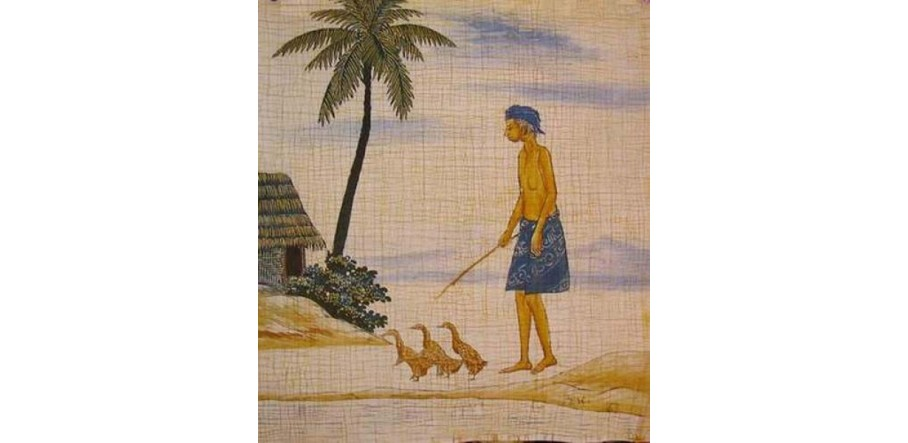 Clearance Batik Paintings