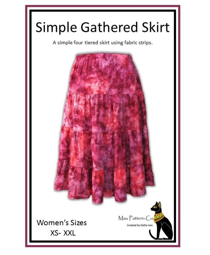 Simple Gathered Skirt