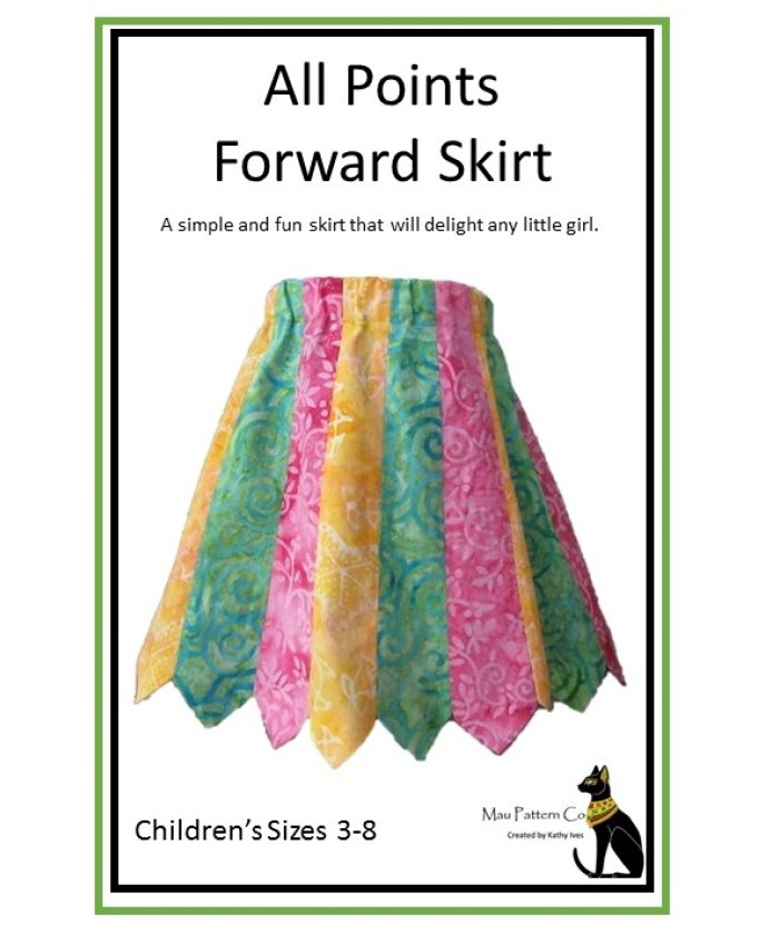 Points Forward Skirt - Childrens'