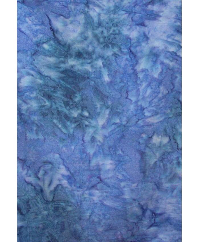 .67 YD- Violet with Indigo Hand Dye- BOLT END