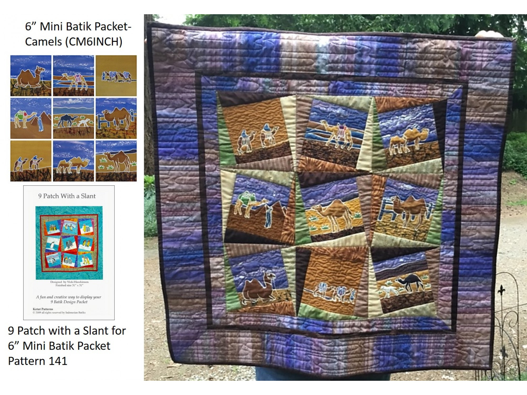 b6a19dcd12f0 Finished Camel Quilt