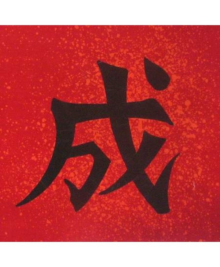 Kanji- 9 inch Success- Red