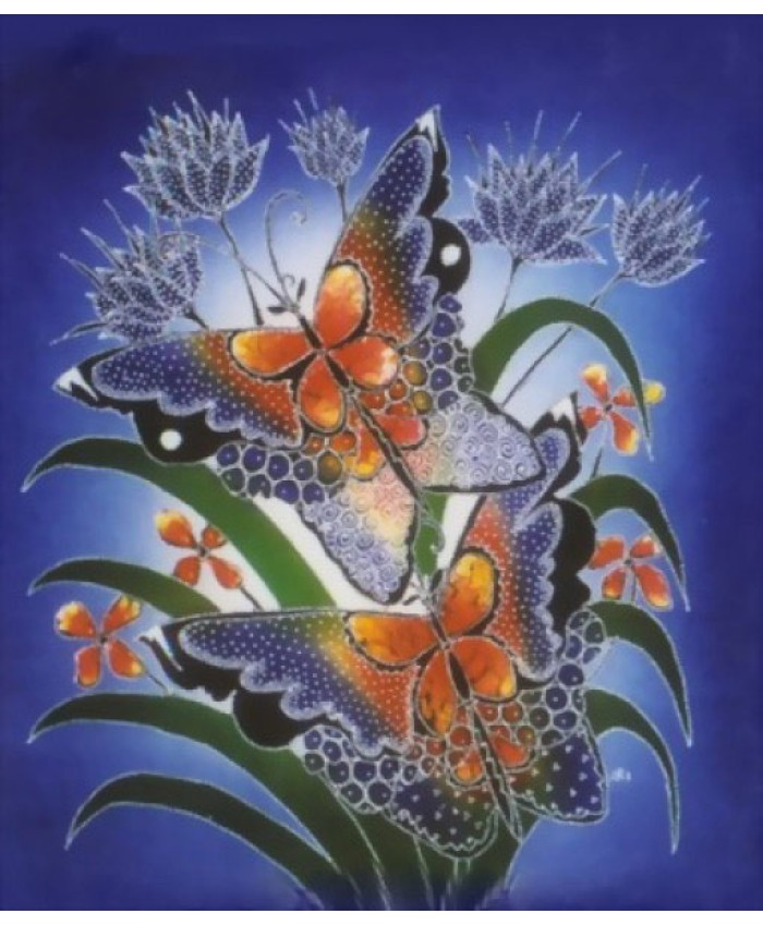 Butterfly Batik Paintings