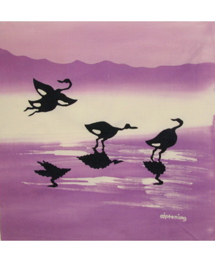 Herons- Purple