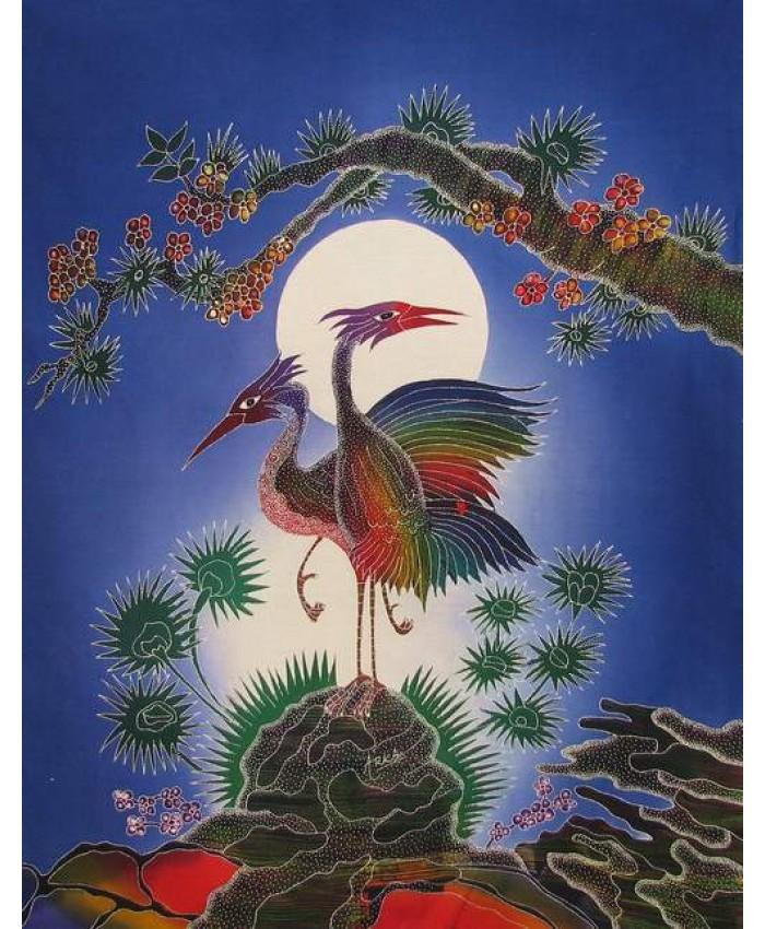 Cranes- Blue