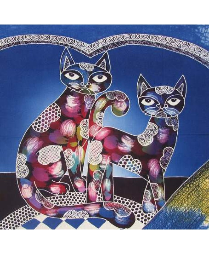 Love Cats blue