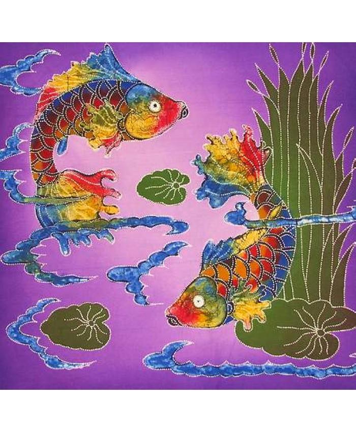Koi fish purple seas for Purple koi fish for sale