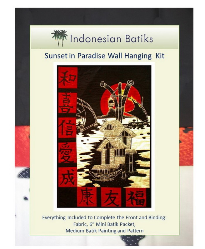 Sunset in Paradise Wall Hanging KIT