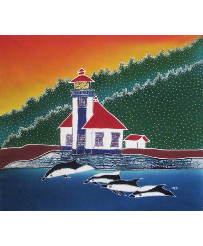 Lighthouse & Orcas