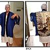 Batik Panel Robe