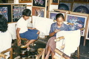 Indo-batik making-edited