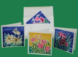 Batik Cards