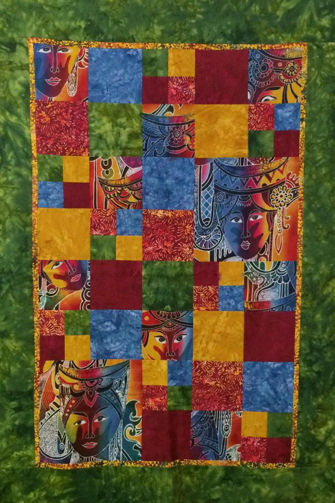 cut up mask quilt