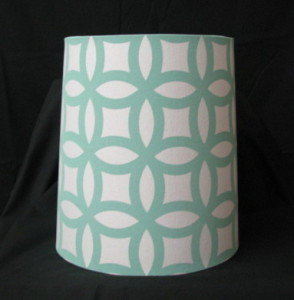 lampshade teal