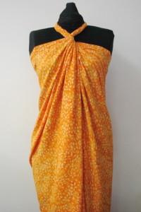 Lemon and Daffodils on Orange- RBF03715H