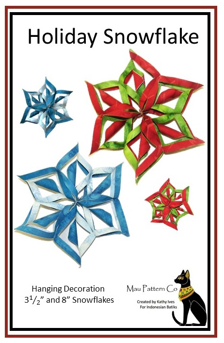 PATTERN- holiday snowflakes- FRONT