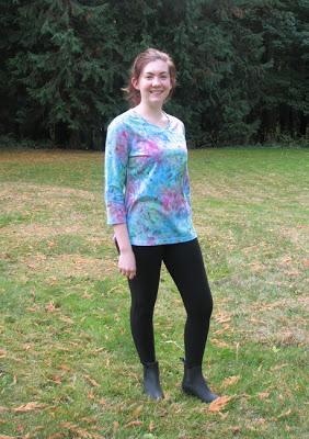 knit fabric -no pattern no