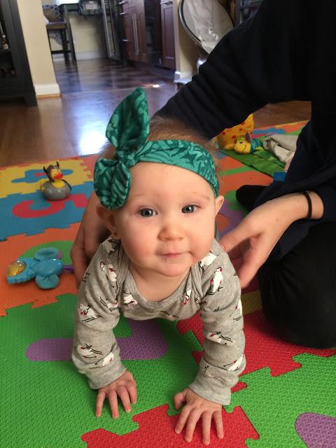 baby in headband