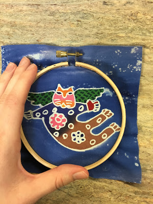 hoop with cat complete