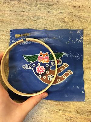 hoop with cat