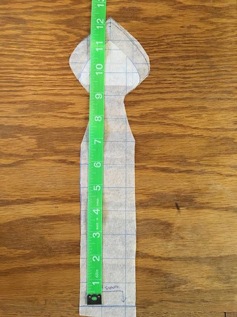measuring pattern