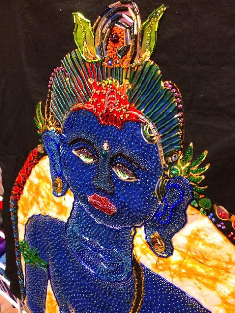 hindu idol close up 2