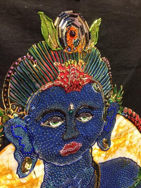hindu idol close up